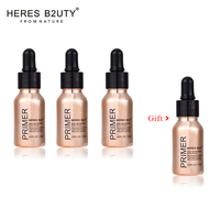 Buy 3 Get 4 HERES B2UTY High Spreadability Fluid Primer Enhancing Lightweight Surface Smoother And Primer