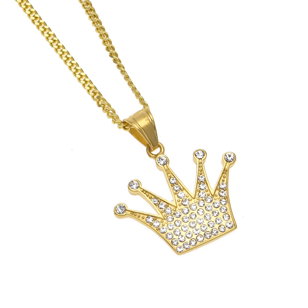king products penant spicyice charm crown necklace pendant