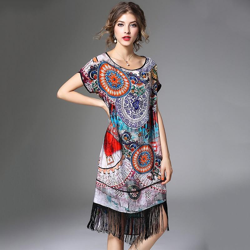 Excellent Summer Dress 2016 Fashion Women Style High Street Latest Dress Design