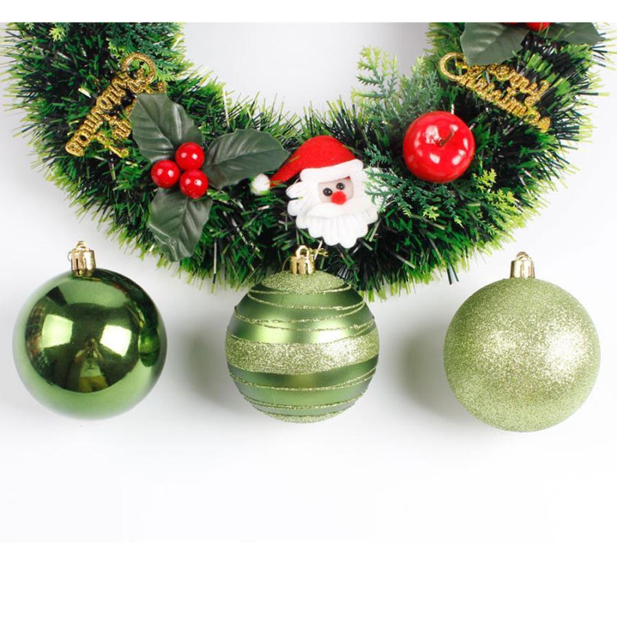 Bright Colors 12pcs Round Christmas Tree Xmas Balls Decorations ...