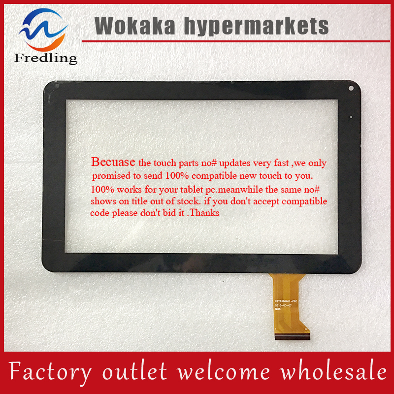 New CZY6366A01 Fpc MF 289 090F 9inchtouch screen Digitizer handwritten for Q9 tablet pc MF 289