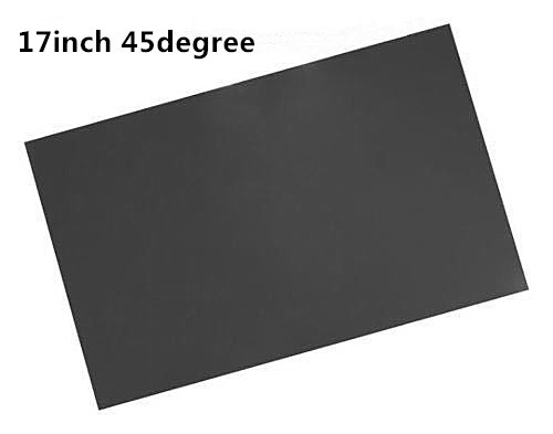 2pcs Sheet 17inch LCD LED Polarizing Film For PC Monitor Screen 45degree