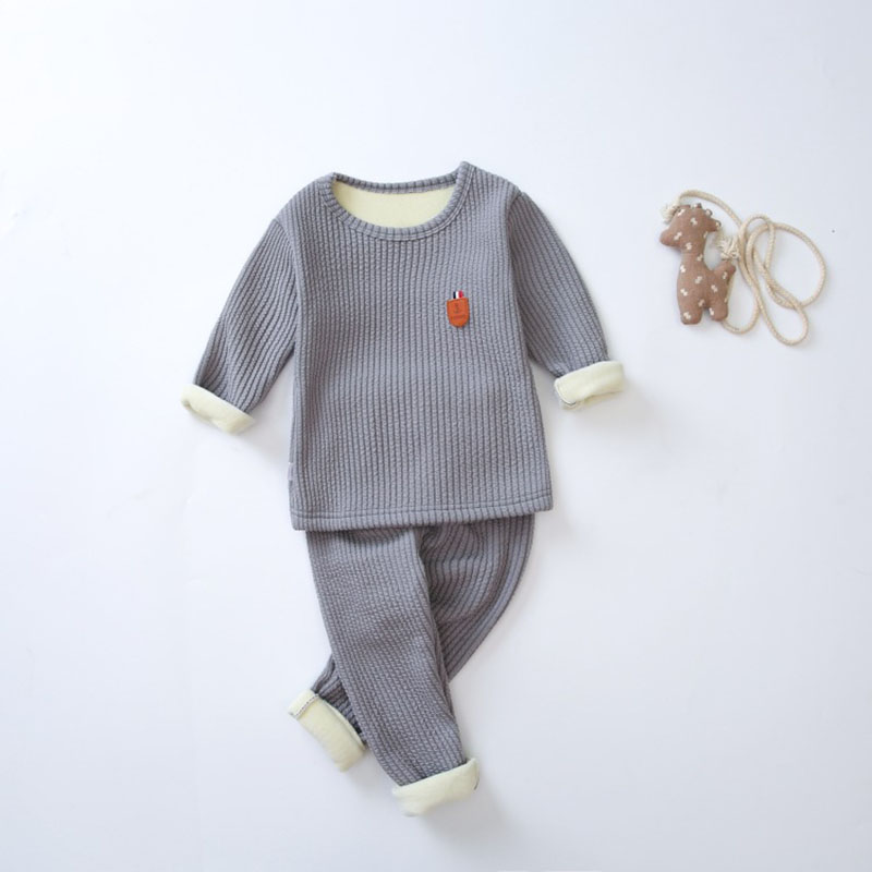 2017 boys girls pajamas sets kids tops+pants clothes sets children long sleeve  underwear baby boys clothing suits year cotton long sleeves baby kids children suits boys pajamas christmas girls clothing sets clothes