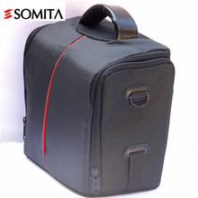 SOMITA New Brand 2017 Solid Casual Outdoor Camera Bag Waterproof Shoulder Bags Hot Sale Travel DSLR video Camera Bag Wt3149