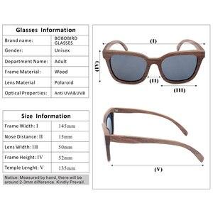 Image 5 - BOBO UCCELLO Vintage Occhiali Da Sole Da Uomo Occhiali Da Sole di Legno Occhiali Da Sole Polarizzati Retro Signore Occhiali UV400 in Contenitore di Regalo di Legno V AG010