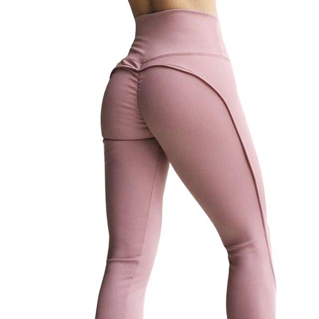 Sexy Push Up Workout Leggings Women Autumn Fitness Leggings High Waist Leggings Jeggings Solid Sportswear Pants 3Color