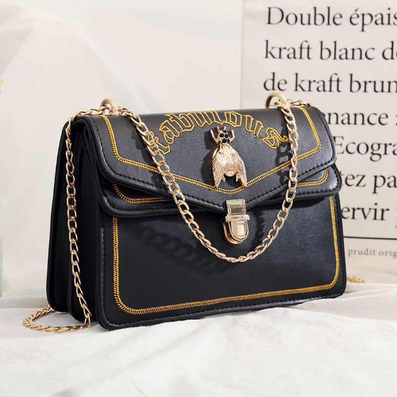 bags for women 2019 fashion handbag luxury messenger shoulder bag hot selling black leather ladies hand designer crossbody bag