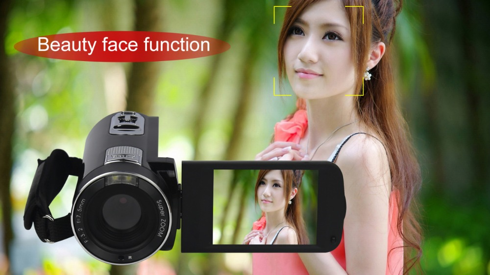 """FHD 1080P Digital Video Camera fotografica Camcorder MP 3"""" Screen External Battery Support SD Card with HDMI Output filmadora 10"""