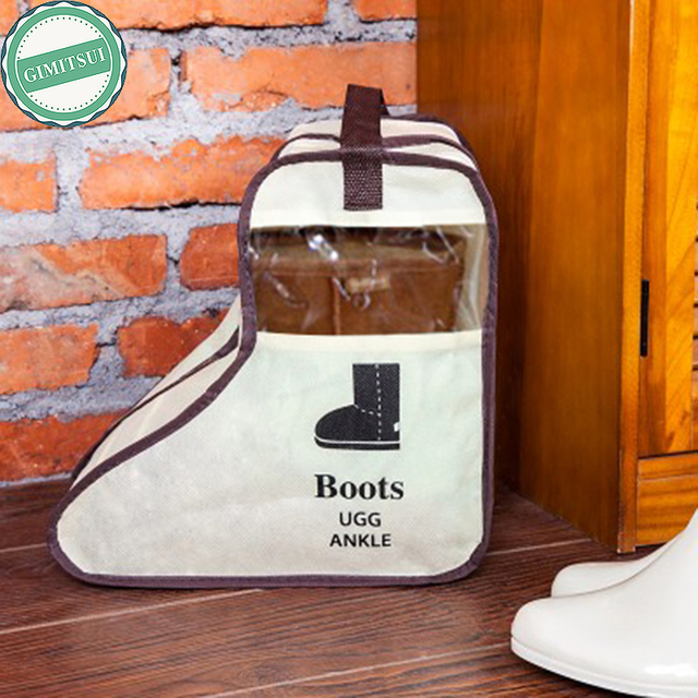 Long Boot Shoes Storage Bag Protector Organizer Long Riding Rain Ankle Boots Leather Shoes Ugg Storage