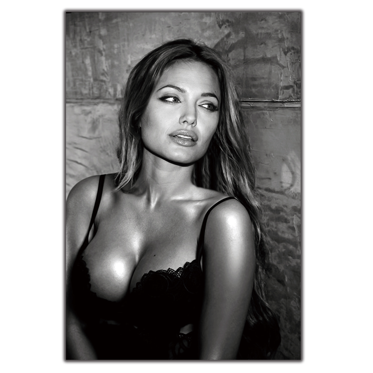 Angelina Jolie Sex us $3.72 |art silk poster angelina jolie sexy actress custom12x18 24x36  27x40 wall canvas print modern decoration painting-in painting &  calligraphy