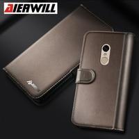 Genuine Leather Case For Xiaomi Redmi Note 4 4X Pro Case Flip PU Back Cover For