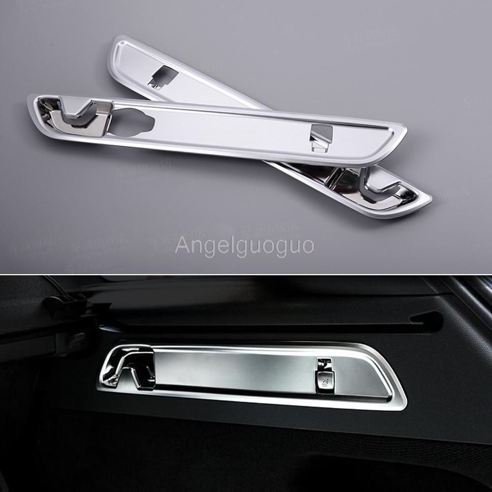 Angelguoguo Car trunk luggage boot hook Trim Cover frame For Mercedes Benz GLC X253 GLC200 GLC260