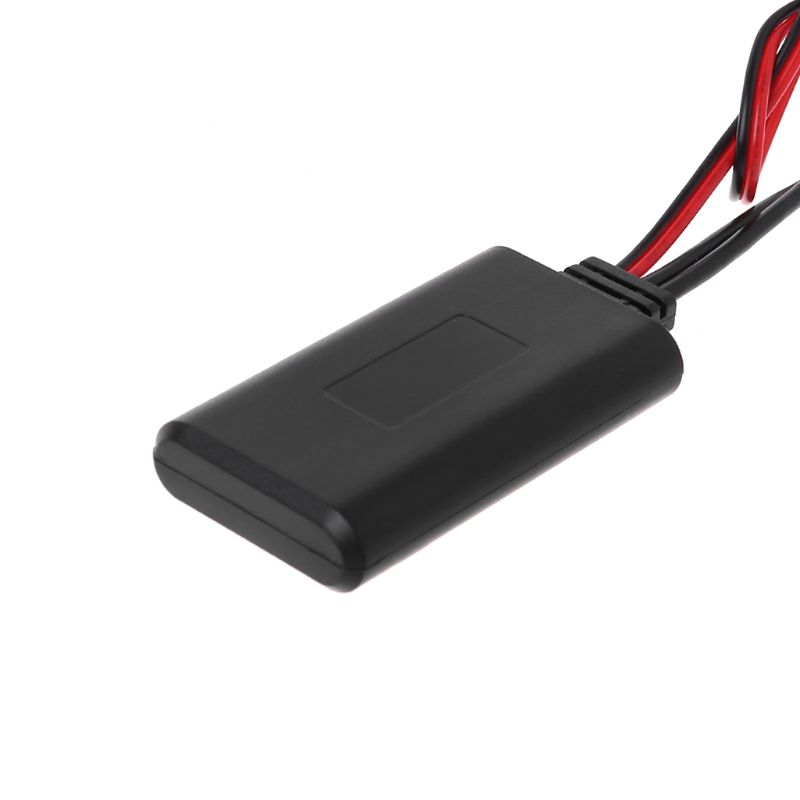 Car <font><b>Bluetooth</b></font> Wireless Radio <font><b>Adapter</b></font> 12pin Stereo AUX-IN Aux Cable <font><b>Adapter</b></font> For <font><b>Peugeot</b></font> 207 307 <font><b>407</b></font> 308 & Citroen C2 C3 RD4 image