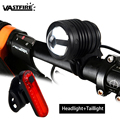 VastFire детали о масштабируемом фокусе 800 лм Т6 светодиодная велосипедная Передняя велосипедная Лампа фара для велосипеда факела