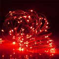 10M LED Waterproof Copper Wire String Multicolor RGB USB Power Operated Fairy Light Strip Lamp Christmas Home Party Decor
