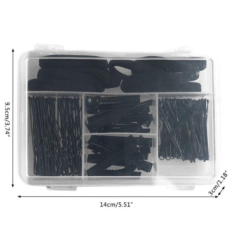 10 pçs faixa elástica maquiagem preto invisível