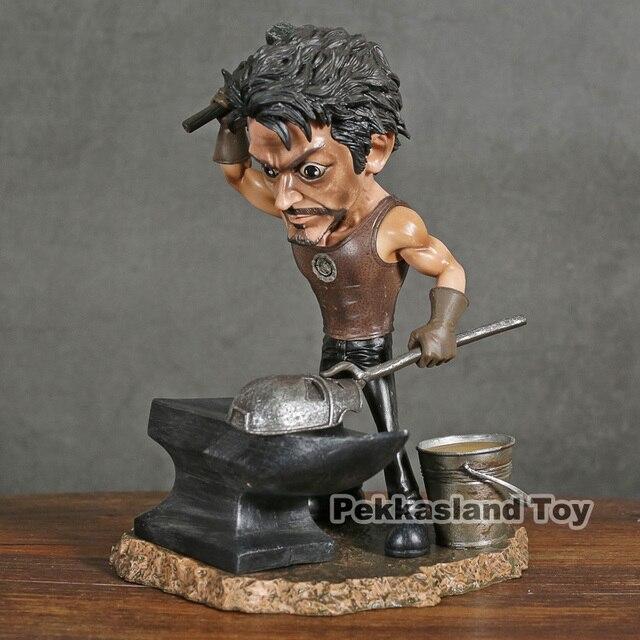 איש ברזל טוני סטארק סימון MK1 פסל דמות דאוני Jr. סימן 1 מסכת KO של LB אולפני £ GK נוקמי צעצועי בובת אוסף