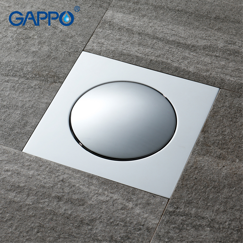 GAPPO drains square shower drain strainer shower anti-odor water drain floor cover bathroom shower drain куртка утепленная strellson strellson st004emwdw33
