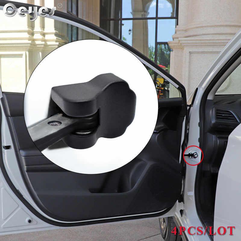 Ceyes אביזרי רכב סטיילינג דלת מנעול פקק הגבלה מכסה מדבקות לסובארו אימפרזה פורסטר טרייבקה XV BRZ קליפ אבזם