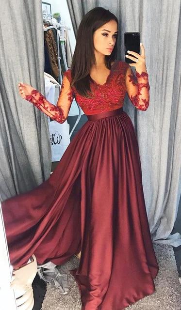 Formal Empire Waist Long V- Floor-Length Maxi Dresses 1