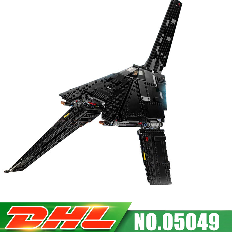 75156 LEPIN 05049 863pcs The imperial shuttle Model Building blocks Bricks Classic Boys Girls developing intelligence Gift new 863pcs lepin 05049 star war series 75156 the imperial shuttle building blocks bricks toys compatible with lego gift kid set