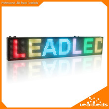20 x6 inches HD SMD RGB Full Color USB Programmable Scrolling Message LED display Sign Board