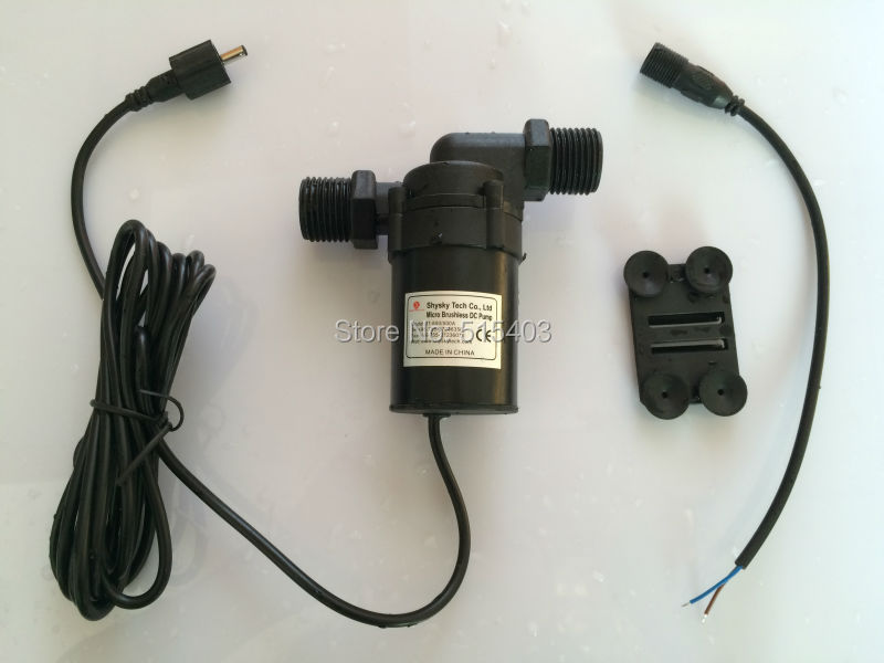 12V DC Water Pump 800/800A-G 1000LPH 3.8M, for Small Garden Fountain, Music Other Cycle SYS, Submersible