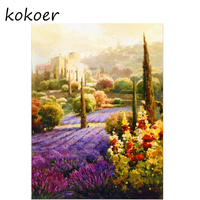 Home Decoration DIY 5D Diamond Embroidery Scenery Woods Botany Cross Stitch kits Abstract Oil Painting Resin Hobby Craft