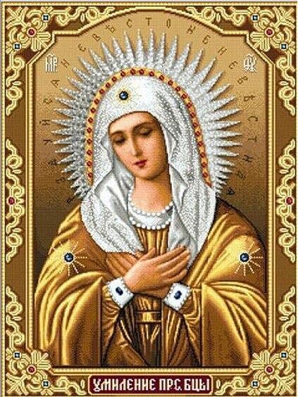 Nová mozaika plně položená čtvercová kosočtvercová výšivka korálky náboženství Ježíš modlete ženy diamantový křížový steh sady ruční malba