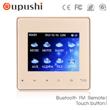Home Audio visuelle in wand verstärker, FM/SD/AUX IN/USB Musik-player, Bluetooth digital stereo verstärker, heimkino cinema system