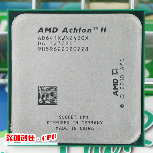 Free shipping AMD Athlon II X4 641 FM1 2.8GHz 4MB CPU bulk Quad-Core scrattered pieces 100% new cpu t7250 sla49 2 0g 2m 800 official version scrattered pieces free shipping