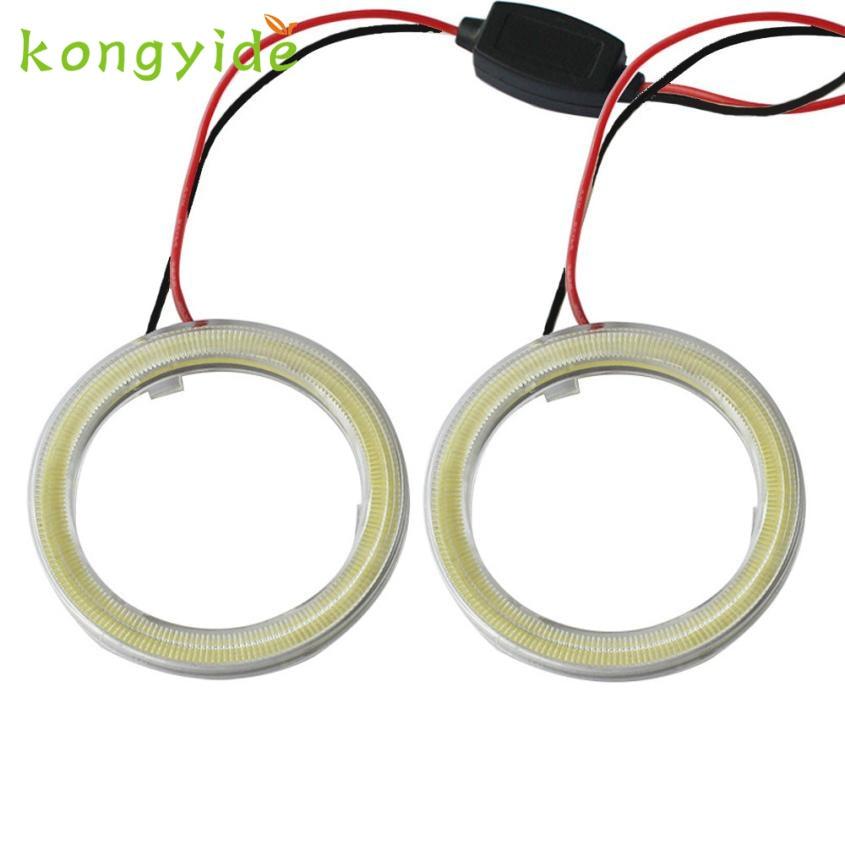 Car Electronics 2pcs led white car light bulbs 110MM COB Headlight Warning Lamps nov27