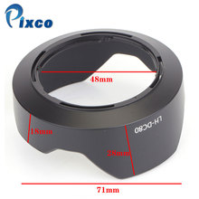 Pixco LH-DC80 Bayonet Mount Lens Hood For Canon PowerShot G1 X Mark II Camera
