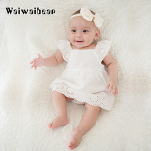 Newborn Dress Sets Baby Rompers Summer Girls Clothing  Fashion Jumpsuit Infant Clothes