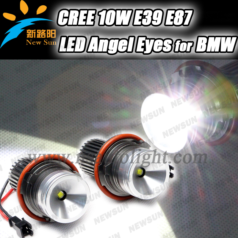 Free shipping For BMW accessories 20W Cree chip led angel eyes led maker for BMW E39 E53 E60 E61 E63 E64 E66 E84 X3 1 pair free shipping high power cree angel eyes led maker lamp fit for bmw e39 e53 e60 e61 e63 e64 e66