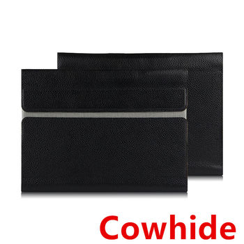 "Case Cowhide Sleeve For MacBook Pro 15.4 inch Laptop Bag Genuine leather File pocket Computer for Apple macbook pro15"" Covers"