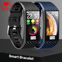 For Samsung Galaxy J7 J5 J3 J1 A9 Smart Wristband ECG Heart Rate Blood Pressure Fitness Tracker Watch Sport Smart Bracelet Band