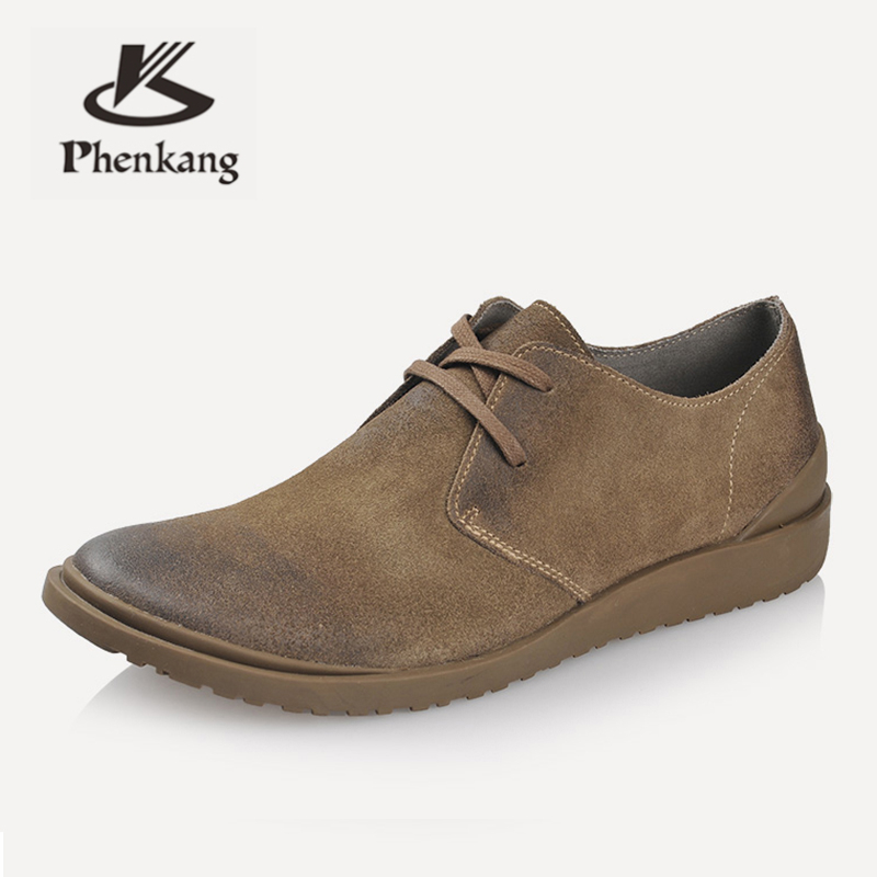 men   leather   shoes summer casual derby outdoor flats mens handmade laces black shoes for men 2019 male brown spring shoes