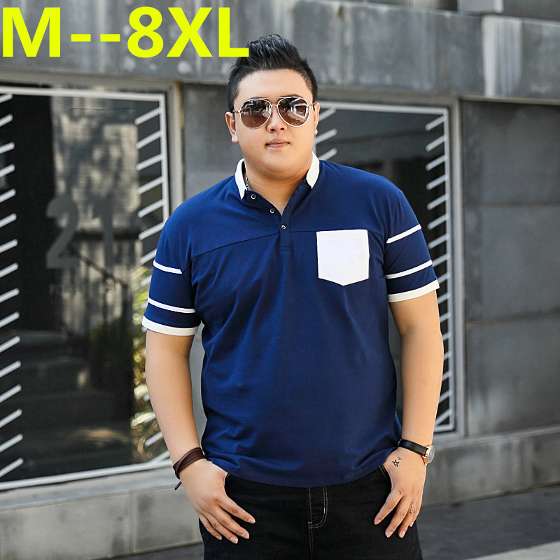 Plus size 10XL 9XL <font><b>8XL</b></font> 6XL 5XL 4XL <font><b>Men</b></font> <font><b>Polo</b></font> <font><b>Shirt</b></font> <font><b>Men</b></font> Business & Casual solid male <font><b>polo</b></font> <font><b>shirt</b></font> Short Sleeve breathable <font><b>polo</b></font> <font><b>shirt</b></font> image