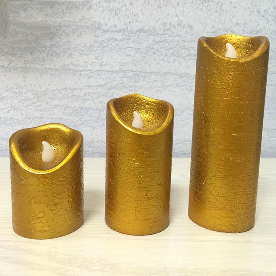 popular metallic pillar candles-buy cheap metallic pillar candles