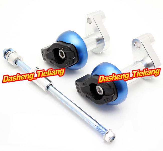 For KTM DUKE 125 200 2012 2013 Frame Sliders Crash Pads Protector font b Motorcycle b