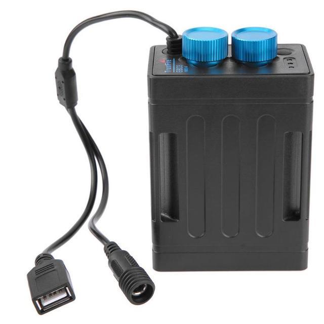 В 5 в power Bank 6x18650 Батарейный блок корпус power Bank коробка В 8,4 в велосипедные фары батарейный блок чехол для велосипедного света мобильный телефон Новый