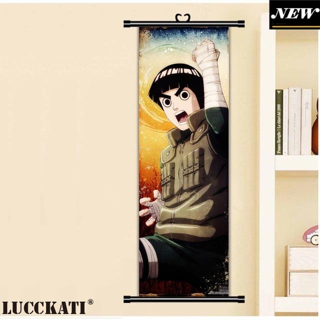 45X135CM Naruto Uzumaki uchiha itachi ninja madara obito cartoon anime wall picture mural poster scroll cloth canvas painting 3