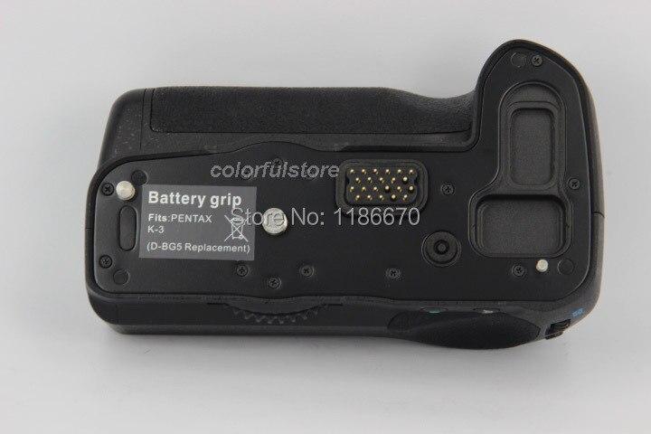 New Arrival Battery Handle Hand Grip Pack Holder Vertical Power Shutter For Pentax K3 K-3 DSLR Camera as D-BG5 DBG5 fit D-LI90