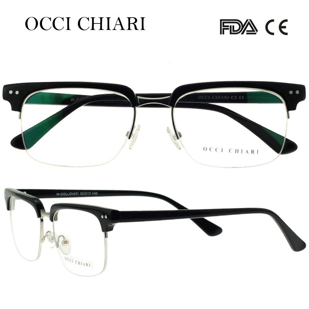 Image 3 - OCCI CHIARI  Fashion Eyeglasses  Men Women Brand Designer Prescription Nerd Lens Medical Optical Glasses Frame  W COLLOVATIbrand eyeglasses mendesigner eyeglasses meneyeglasses brand men -