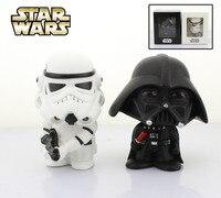 Free Shipping Cute 4 Star Wars Stormtrooper Darth Vader Bobble Head Shaking Head Toy Model Car
