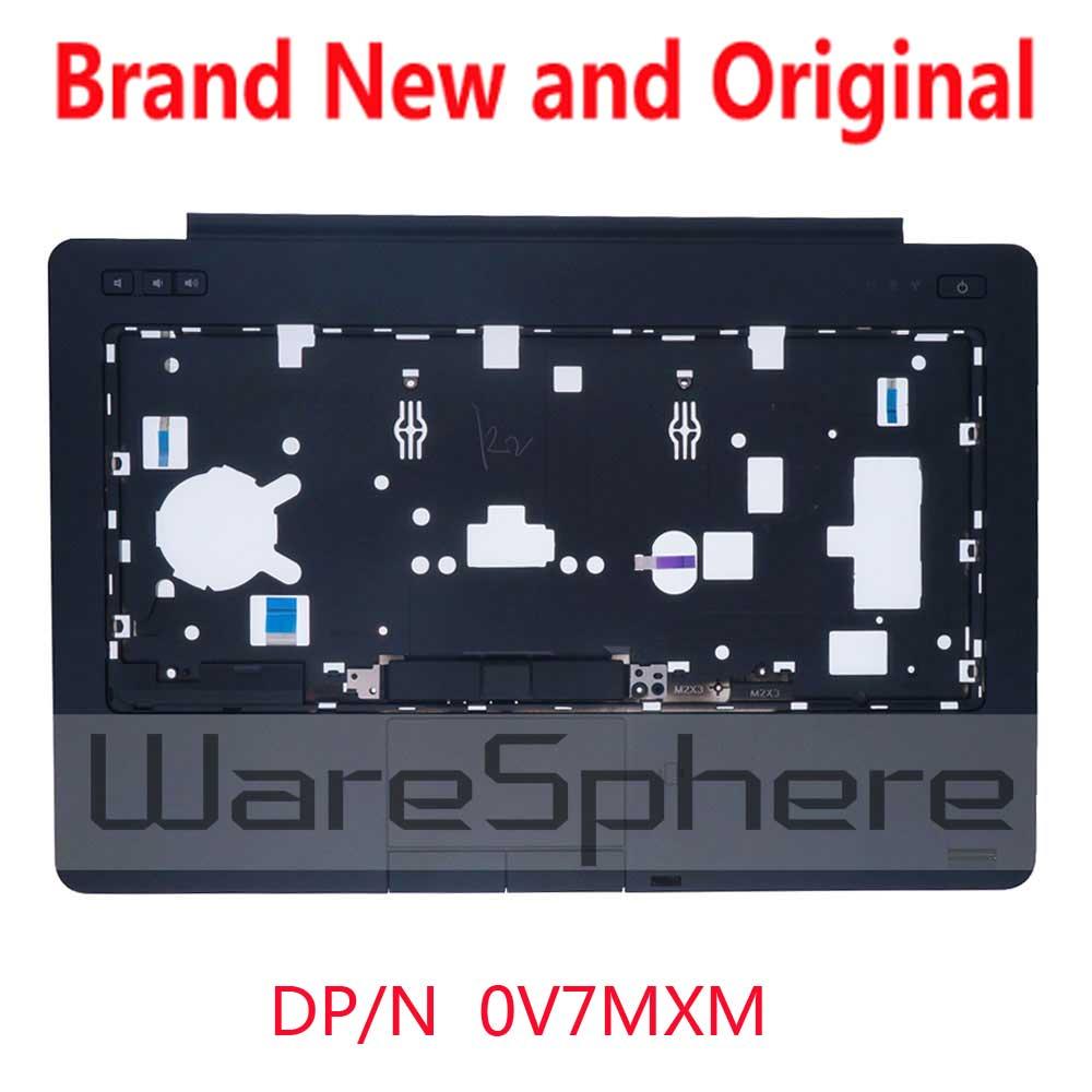 New Couvercle Majuscules WithTouchpad D'empreintes Digitales Scanner bouton D'alimentation circuit conseil Pour Dell Latitude E6440 V7MXM AP0VG000120