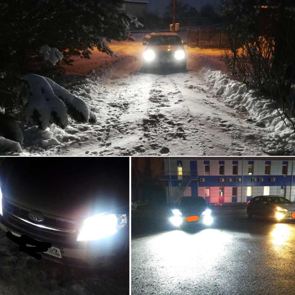Avacom H7 LED Auto Headlight Bulb Turbo H4 H11/H8/H9 9005/HB3 9006/HB4 Hir2 H13 CSP 80W 6500K 12V 24V Car Light LED Voiture