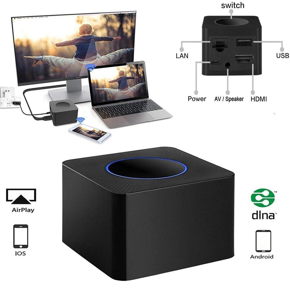 AV+HDMI+RJ45 2.4G&5G Wifi Display Dongle Q2 Wireless Screen Mirroring Adapter 1080P HDMI Video Receiver Mini Display Receiver fausto puglisi короткое платье