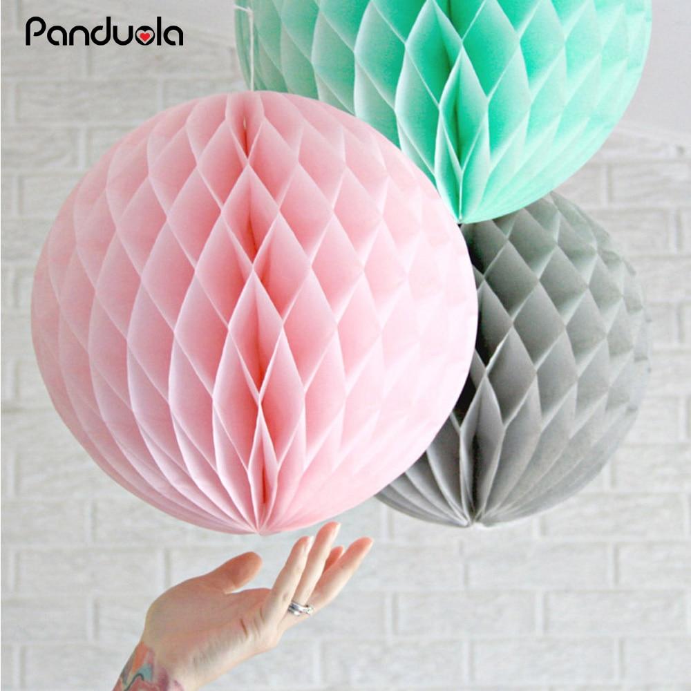 ⑦babyshower lampion Party Decoration Paper Lantern Honeycomb Ball ...